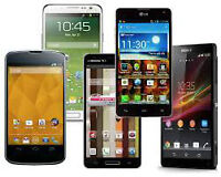ANDROID PHONE REPAIR & SCREEN REPLACEMENT: HTC, LG, Galaxy ALL