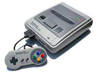 snes, controller,cables,no yellowing vgood condition