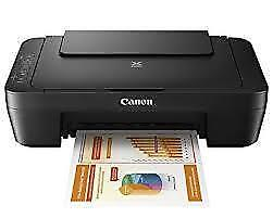 Canon PIXMA MG2525 All-in-One Inkjet Photo Printer - Black