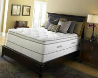 CLEAROUT OF SEALY QUEEN AND KING SIZE MATTRESS!-CAN'T BEAT THIS!
