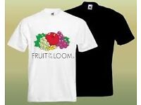 T-shirts (and poloshirts, vests, sweatshirts) - Fruit of the Loom & other items