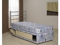 Brand New Comfy Single Storage Divan store bed set FREE delivery Full store area
