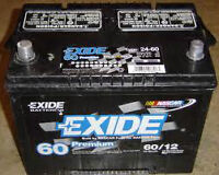 Car battery $40 or 2 for $60