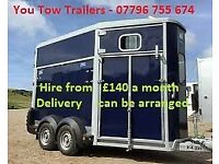 Trailer hire from £140 a month, the longer the hire the lower the monthly rate