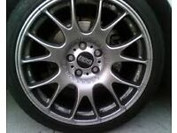 * * wanted bbs motorsports 5x100 fitment * * tyres and condition not important