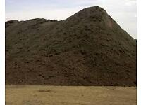 TOP SOIL SCREENED FOR SALE SOIL SCREENING machine for hire Digger sand stone available muckaway
