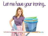 IRONING WORK WANTED