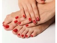 SPECIAL OFFER **** SPLENDID TREAT**** MANICURE AND PEDICURE**** £22