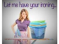 De-Crease me...ironing service 30p per item