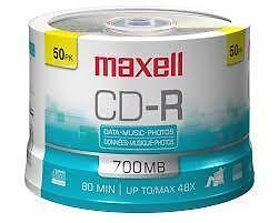 CD/DVD de plusieurs marques en grande promotion