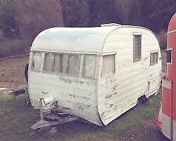 Wanted: old vintage camper