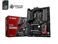 Msi Z270 m5 motherboard 6th 7th gen Intel