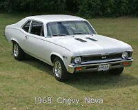 late 60s to 70s GM muscle car