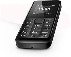 Microsoft Nokia 105 - Black - Any Network - Buy In Confidence!!!!!