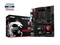 For sale Msi gaming 5 z97 mother board