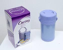 Curves International Stainless Steel Portion Control Canister