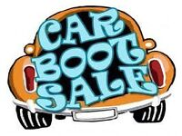Car Boot Sale Inverkeithing Fife Scotland
