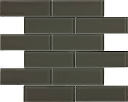 In Stock  -  2x6 Glass Mosaic Tile