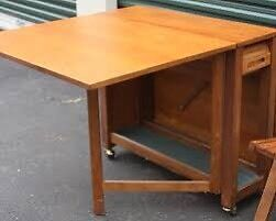 Mid Century Modern Teak Table and Chairs