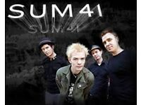 Sum 41 tickets x 2 for Barrowlands Tuesday 28th February