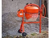 CEMENT MIXER HIRE POWER TOOL HIRE GARDENING BUILDING GRINDER HIRE CHAINSAW HIRE
