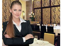 Restaurant Hostess, Receptionist with immediate start