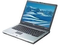 """EXCELLENT ACER TRAVELMATE 2400 , WIFI , LAPTOP , 14.1"""" WIDESCREEN , WIN 7, GOOD BATTERY."""