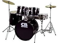 CB 5 Piece Drumkit with chair VERY GOOD CONDITION Drum Kit