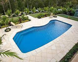 Pool Fiberglass inground Swimming Pool already removed Windella Maitland Area Preview