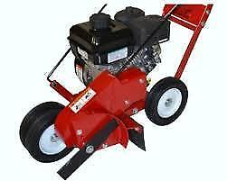 New Landshark Gas Powered Walk Behind Crack Cleaner Briggs and Stratton Engine Landscape Billy Goat Grazor Little Wonder