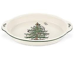 "Two Spode ""Christmas Tree"" Serving Dishes"