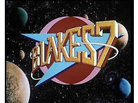 Complete BBC Blake's 7 (4 series) on 26 VHS tapes - vgc