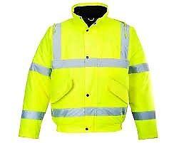FREE HI VIS Bomber Jacket Offer - Builders Gloves