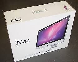 """Empty Box & packaging wanted for Apple Imac 24"""" or 27"""""""