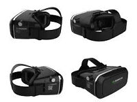 shinecon 3d virtual reality glasses with games bluetooth remote £30 headphones