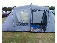 4 man tent - 2 separate sleeping pods