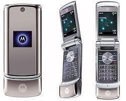 Motorola K1M KRZR Bell Flip Camera Phone