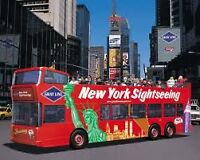 Bus tours to NEW YORK CITY