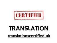 Certified translation group. Official document translation. Community of translator (s).