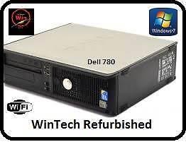 Dell 780 Dual Core Desktop Computer Kirribilli North Sydney Area Preview