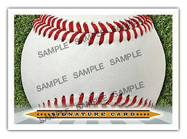 The Autograph Card Blank Signature cards 25 BASEBALL bb