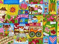 Country Gardens Kids...Fabric by Quilting Treasures
