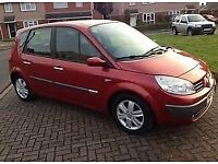 2004 RENAULT SCENIC RUSH VVT 115 BHP. 1 OWNER FROM NEW., YEARS MOT.