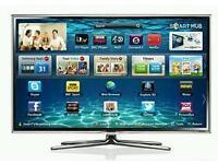 "Samsung 46"" LED smart 3D tv wifi builtin USB media player HD freeview freesat fullhd 1080p"