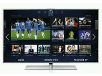 "Samsung 55"" LED smart 3D tv wifi builtin USB media player HD freeview freesat fullhd 1080p"