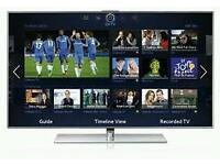 "Samsung 55"" LED smart 3D tv wifi builtin USB media player HD freeview"