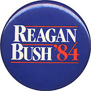 Ronald Reagan Campaign Button