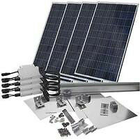 Complete Solar Grid Tie System - Solar PV Panel System - 1 KW