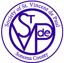 Society of St. Vincent de Paul Sonoma County