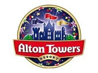 ALTON TOWERS TICKETS - THURS 22/03/18